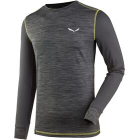 Salewa Pedroc Hybrid - T-shirt manches longues Homme - gris